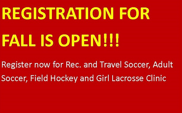 Register Now for the Fall Season